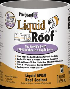 F9991-4 Pro Guard Roof Coating Use To Extend Life/ Seal Leaks/