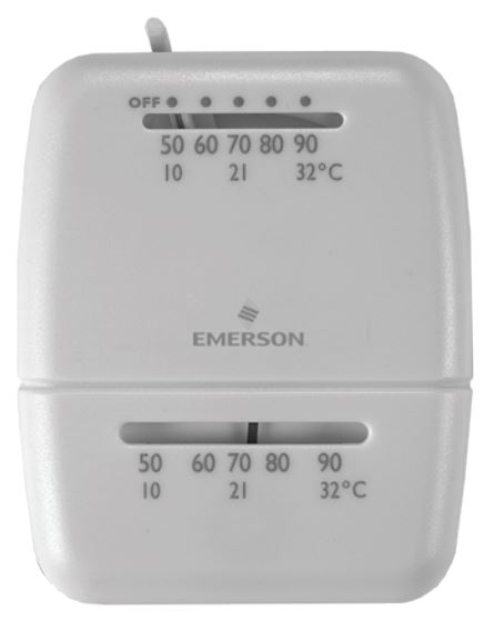 M100 White Rodger Wall Thermostat Single Stage