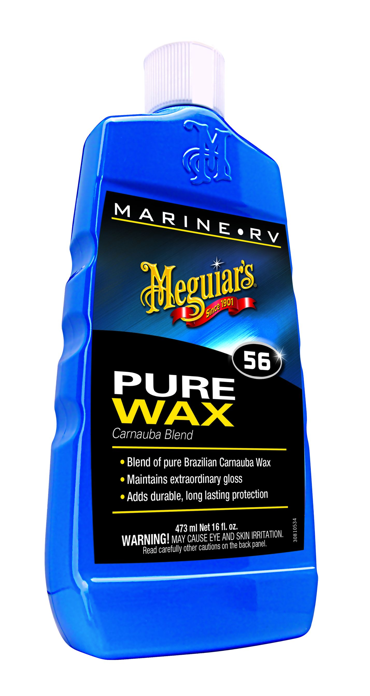 M5616 Meguiars Car Wax Blend of Brazilian Carnauba Wax With