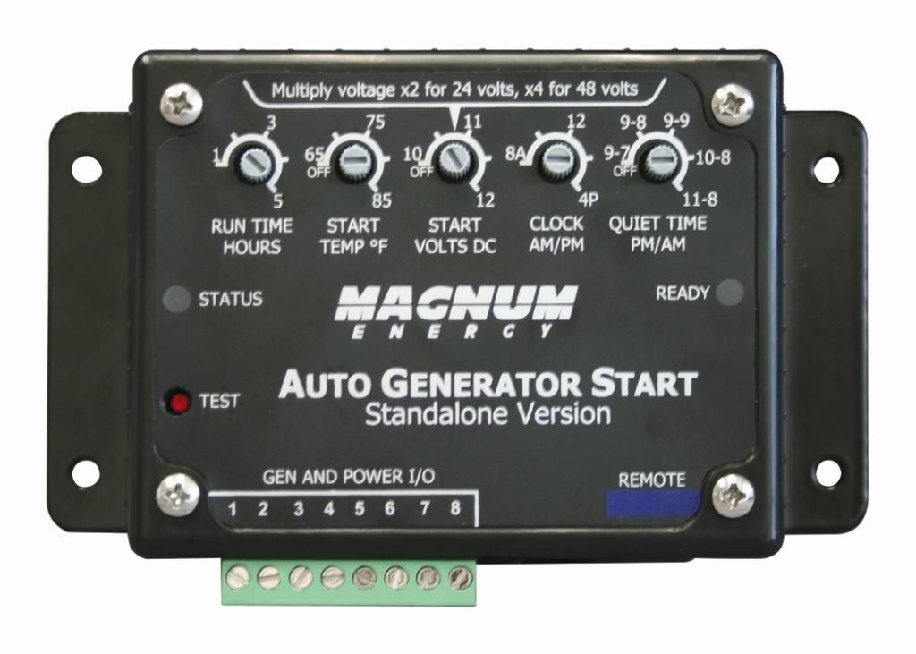 ME-AGS-S Magnum Energy Generator Power Controller Use To