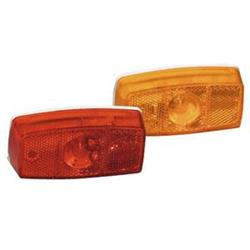 MF349A Clartec Corporation Tail Light Assembly Amber Lens