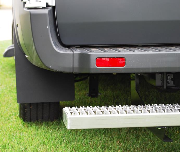 MFP01 Owens Products Mud Flap Use With Owens Running Boards