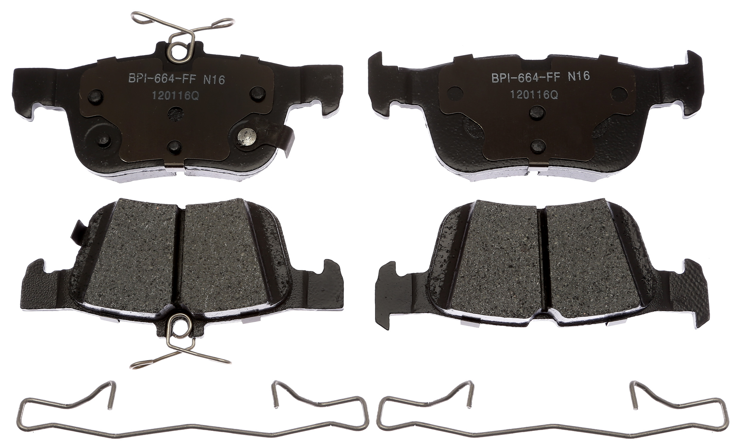 MGD1665CH Raybestos Brakes Brake Pad OE Replacement