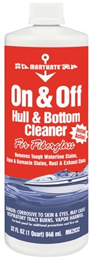 MK2032 CRC Industries Hull Cleaner Use To Remove The Toughest