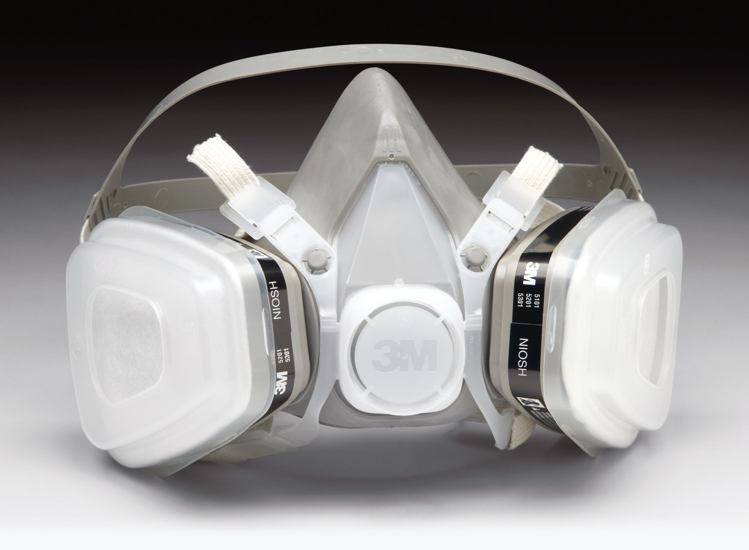 07191 3M Respirator Used When Spray Paint Applications