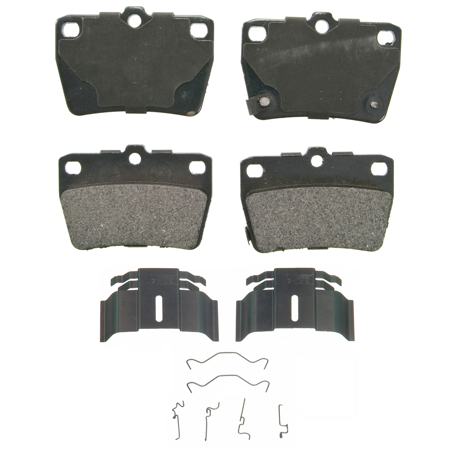 ZX1051 Wagner Brakes Brake Pad OE Replacement
