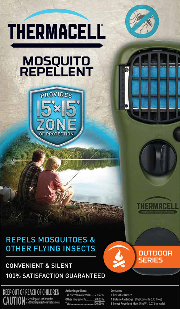MR-GJ ThermaCell Mosquito Repellent Personal Clip On Heated Mat Type