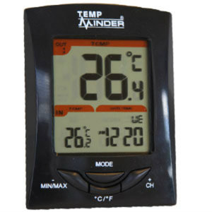 MRI-200HI Minder Research Thermometer Digital Indoor/ Fahrenheit And