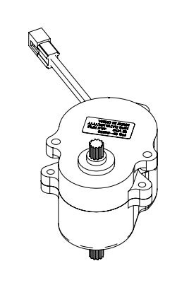 10-20270 MaxxAir Ventilation Solutions Roof Vent Motor For Use With