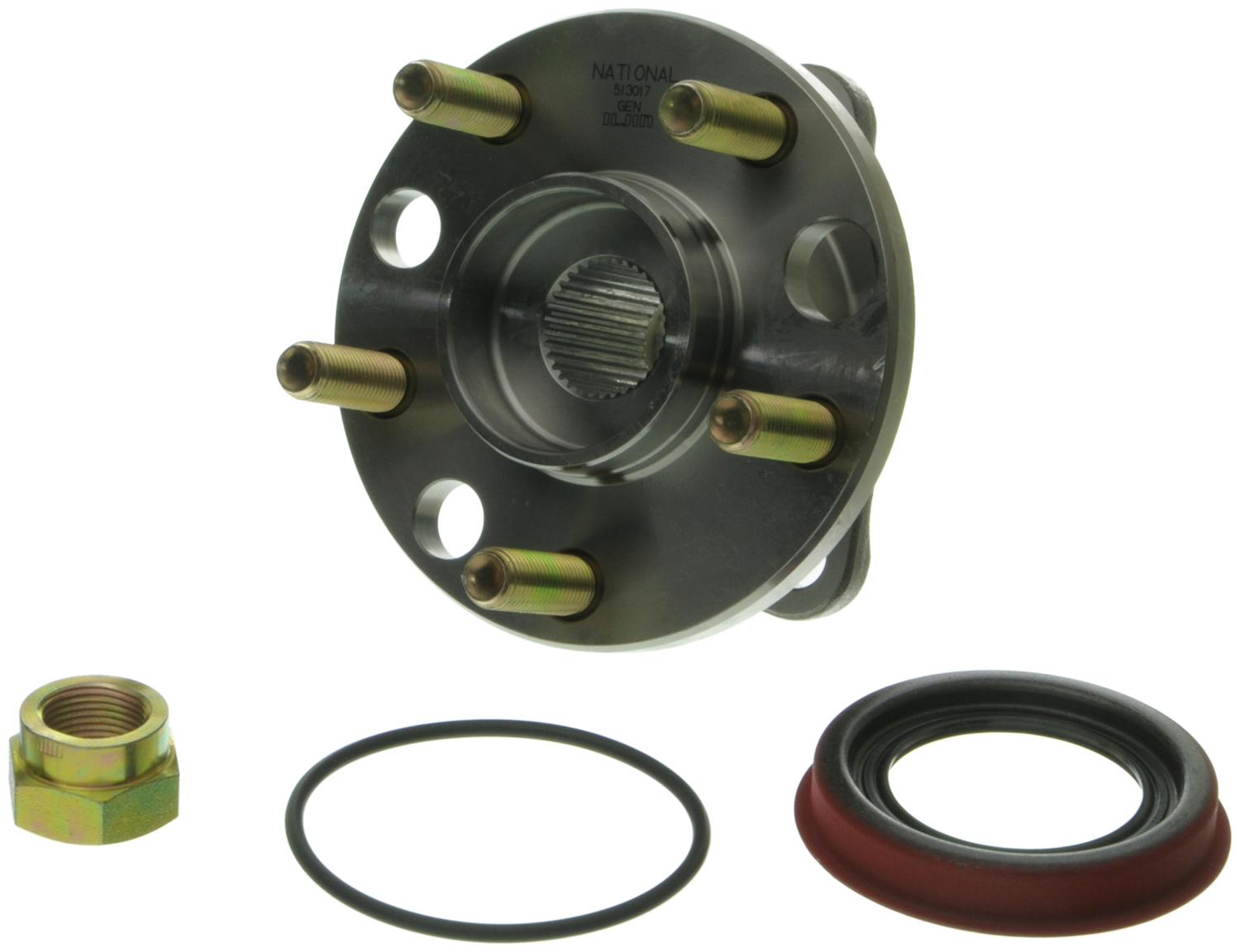 513017-K Moog Hub Assemblies Wheel Bearing and Hub Assembly OE