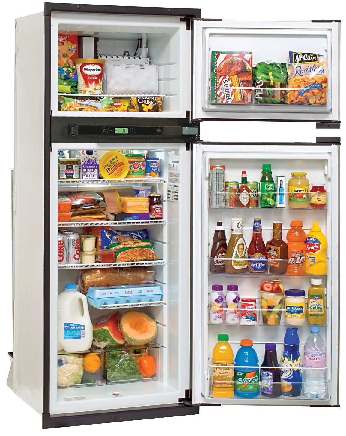 NA8LXL Norcold Refrigerator / Freezer Dual Compartment 2 Door Refrigerator  With Freezer