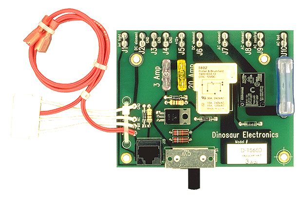 D-156503-WAY Dinosaur Electric Refrigerator Power Supply Circuit