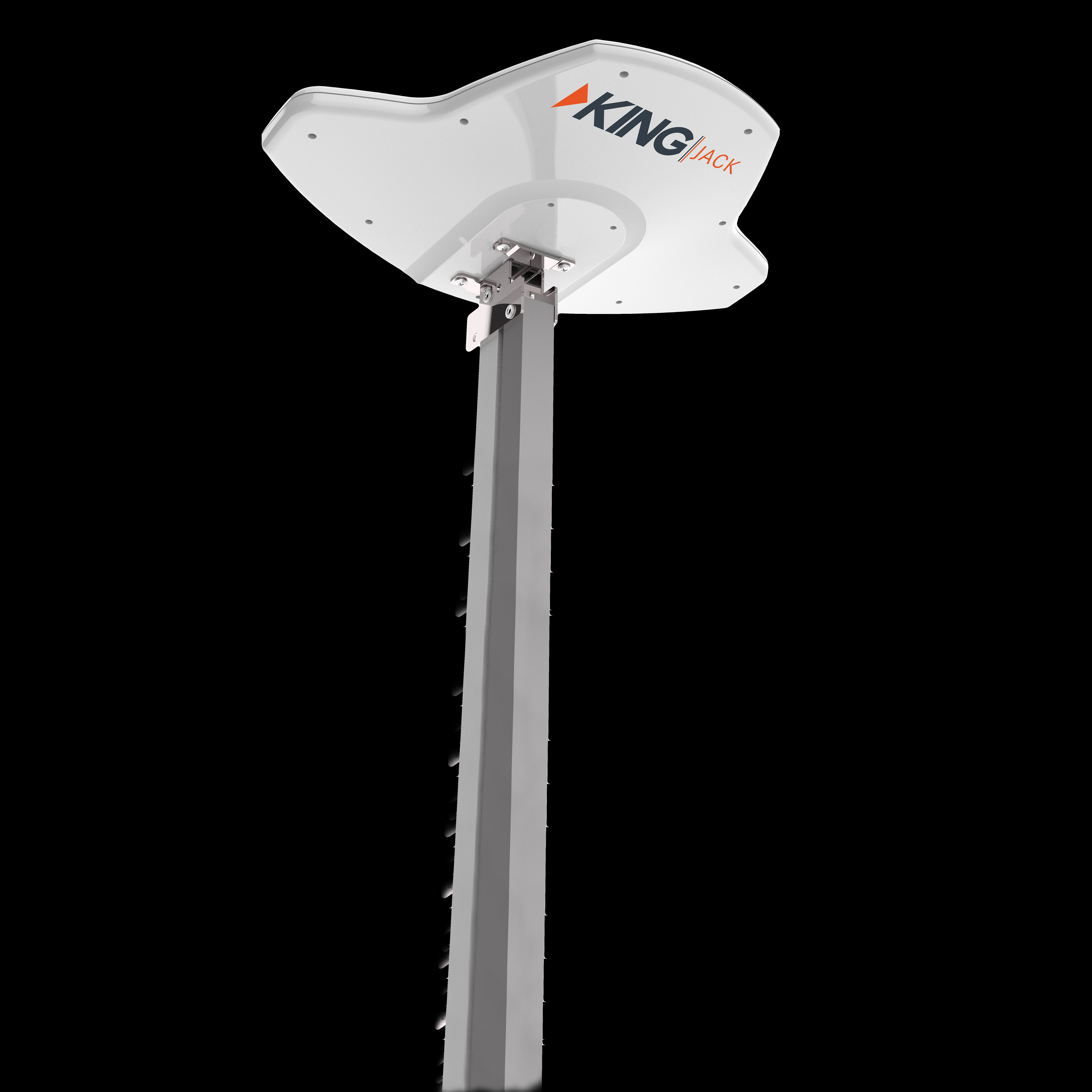 OA8300 King Broadcast TV Antenna White