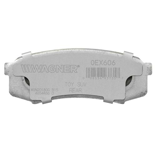OEX606 Wagner Brakes Brake Pad OE Replacement