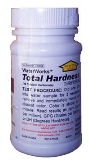 OTGTHTS On The Go Water Hardness Test Strip Use To Measure Calcium