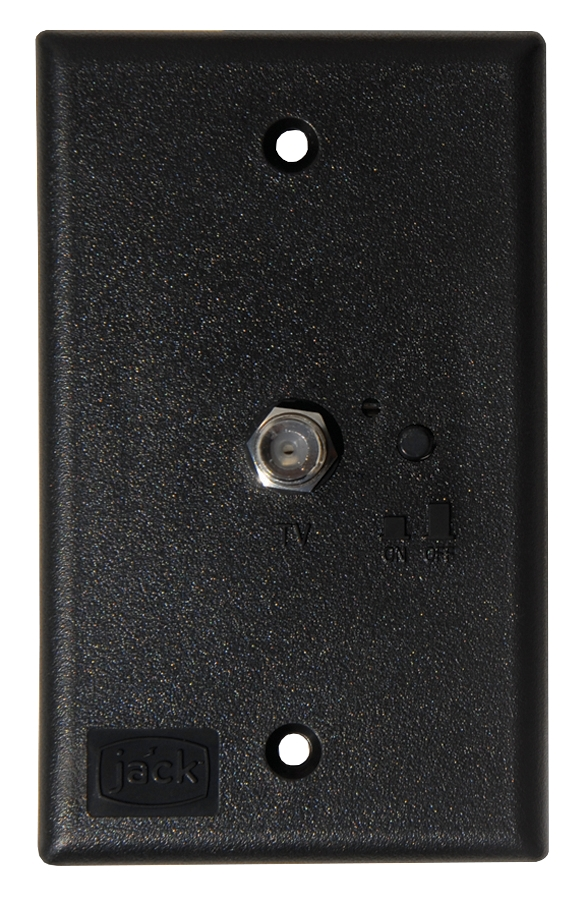 PB1001 King Receptacle Use To Provide Power To An Amplified TV Antenna
