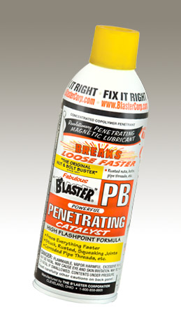 16PB Blaster Penetrating Oil Use To Break Loose Surface Tension Of