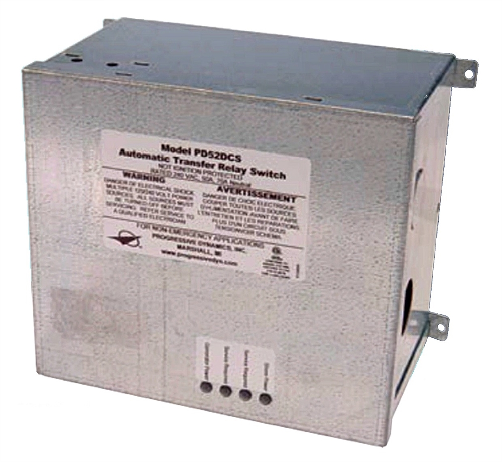 PD52DCSV Progressive Dynamics Power Transfer Switch Senses Generator