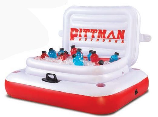 PPI-ICELRG AirBedZ Inflatable Toy Floating Ice Chest