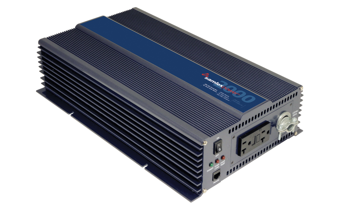 PST-2000-12 Samlex Solar Power Inverter Inverts 12 Volt DC To 120