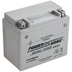 PTX12BS-FS Power Sonic Battery 12 Volts