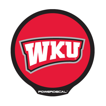 PWR190401 PowerDecal Decal Western Kentucky University Logo