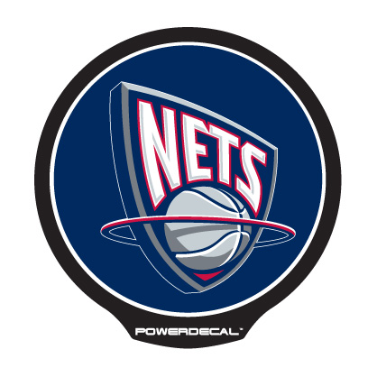 PWR85001 PowerDecal Decal New Jersey Nets Logo