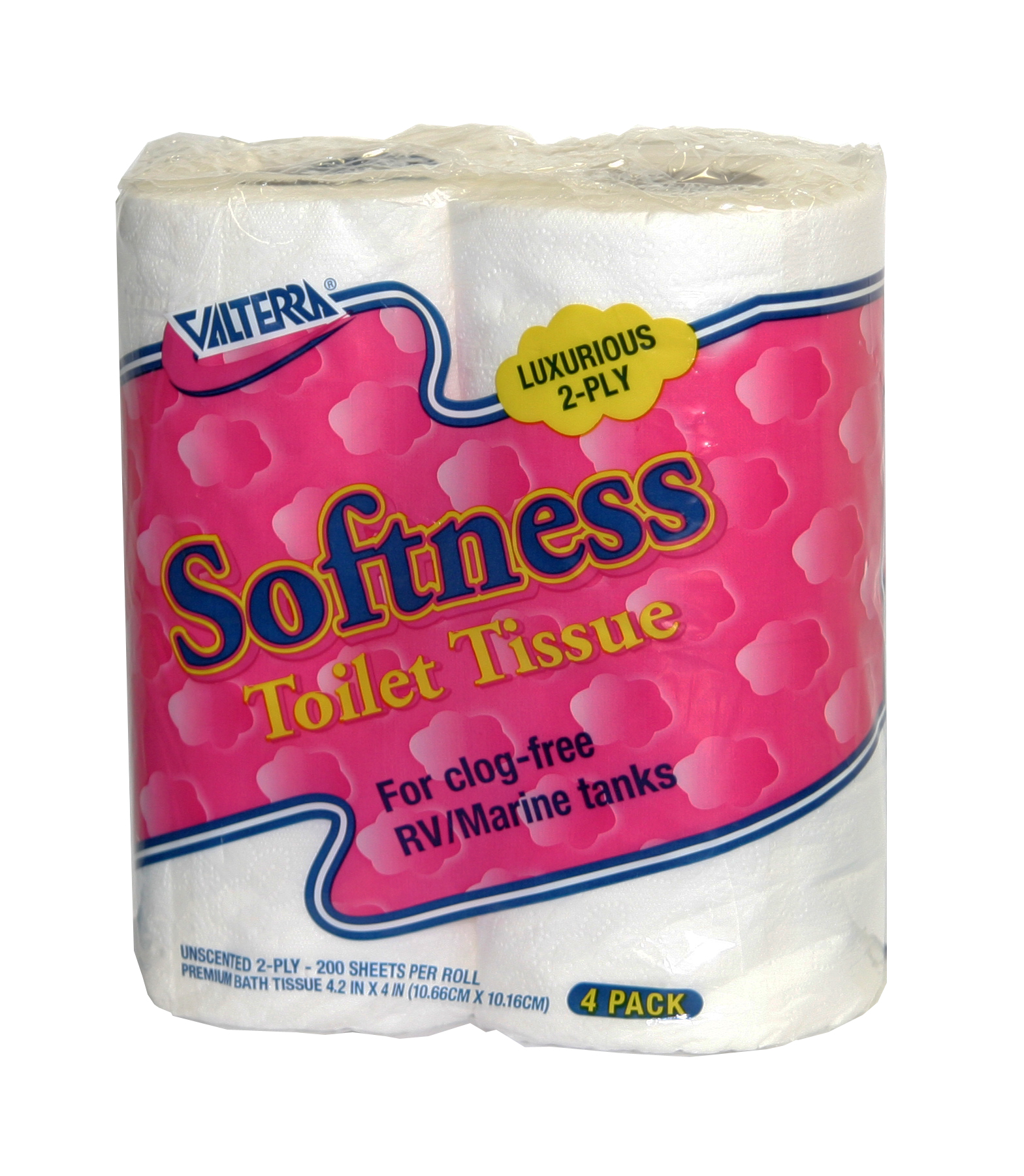 Q23630 Valterra Toilet Tissue Softness 2 Ply 4 Roll Pack