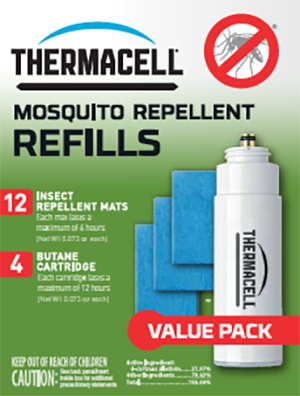 R-4 ThermaCell Mosquito Repellent Refill Use With All Thermacell