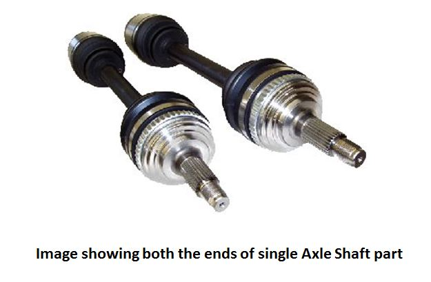 RA4001L0 Driveshaft Shop Axle Shaft Use With K-Series Engine Swap,