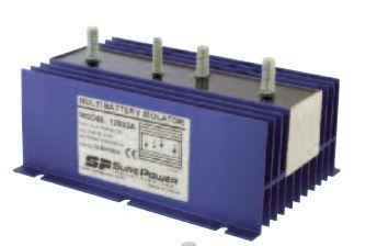 RB-BI-130A Bussman Battery Isolator Prevent Auxiliary Batteries From