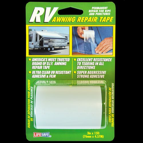 RE3848 Top Tape and Label Awning Repair Tape Use To Repair Rips/
