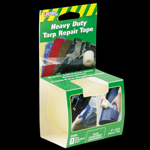 RE3855 Top Tape and Label Tarpaulin Repair Tape Use To Fix Rips And