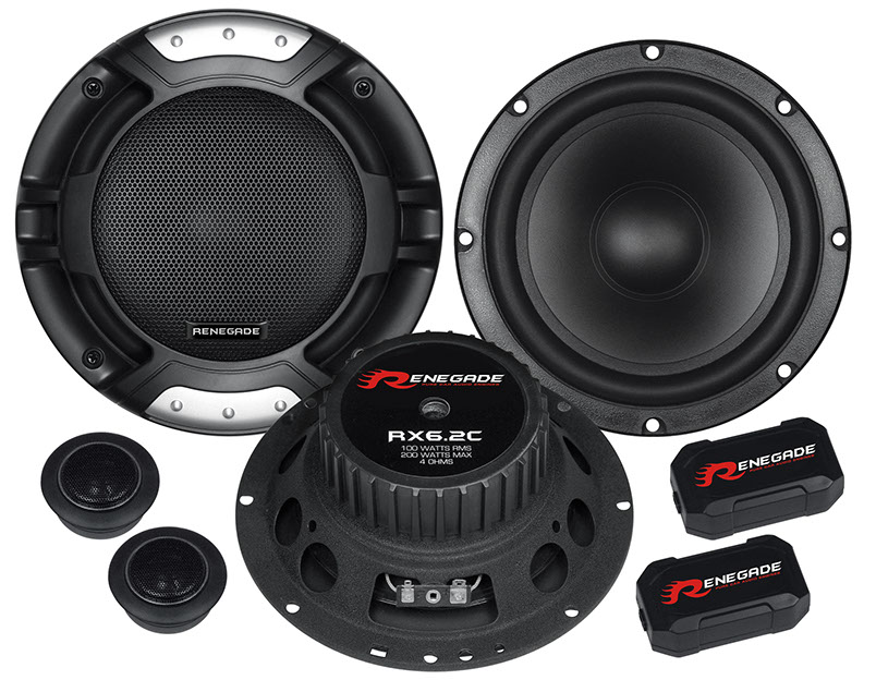 RX6.2C Renegade Audio Speaker 6-1/2 Inch 2-Way Component System