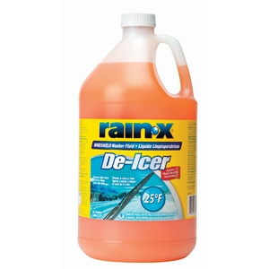 RX68106 Rain-X Windshield Washer Fluid With De Icer and Rain