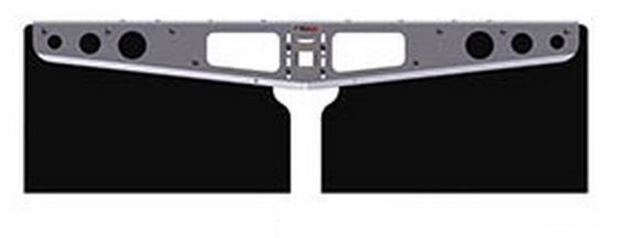 A10100311 ACI/ AgriCover/ Access Cover Mud Flap 20.5 Inch Length X