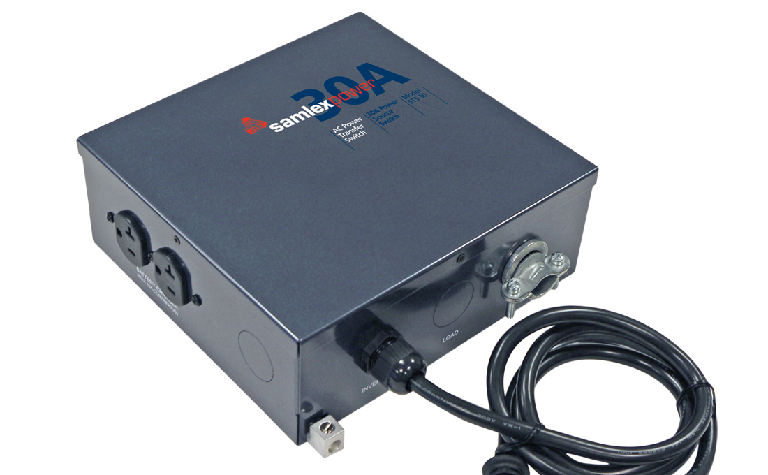 STS-30 Samlex Solar Power Transfer Switch Automatically Switches