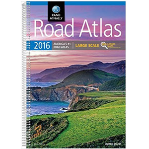 Rand McNally 0528013173 2016 Lrg Scl Road Atlas