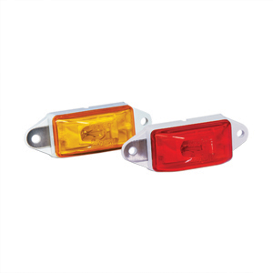 34-003273 Draw-Tite Waterproof Sm/Cl Lamp Red