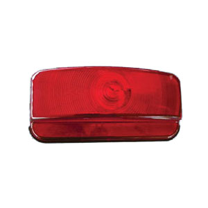 00381B Command Surface Mount Taillight Red Black Base