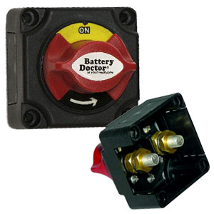 20387 Battery Doctor Mini Master Rotary Dial Disconnect S
