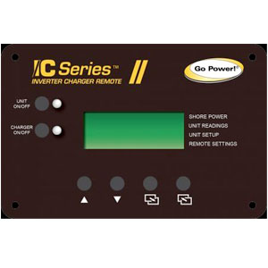GPICR50 Power GPICR12 Inverter Charger Remote