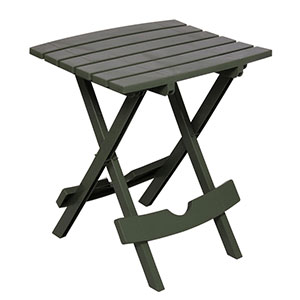 Adam's Mfg 8500013731 Quik Fold Table Sage