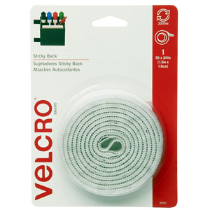 Velcro 90087 5Ft X 3/4 In Tape-White