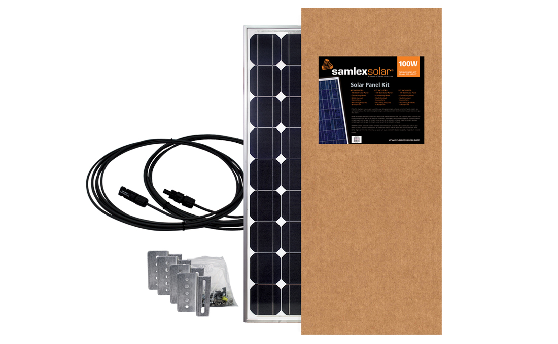 SSP-100-KIT Samlex Solar Solar Kit Expansion Solar Kit