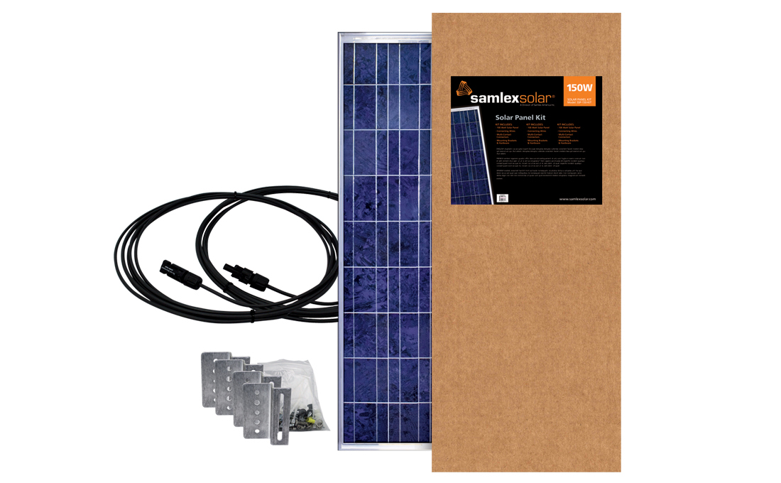 SSP-150-KIT Samlex Solar Solar Kit Expansion Solar Kit