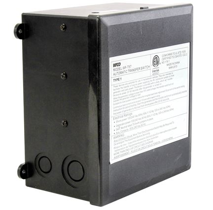 T57R WFCO/ Arterra Power Transfer Switch Transfers Power Between