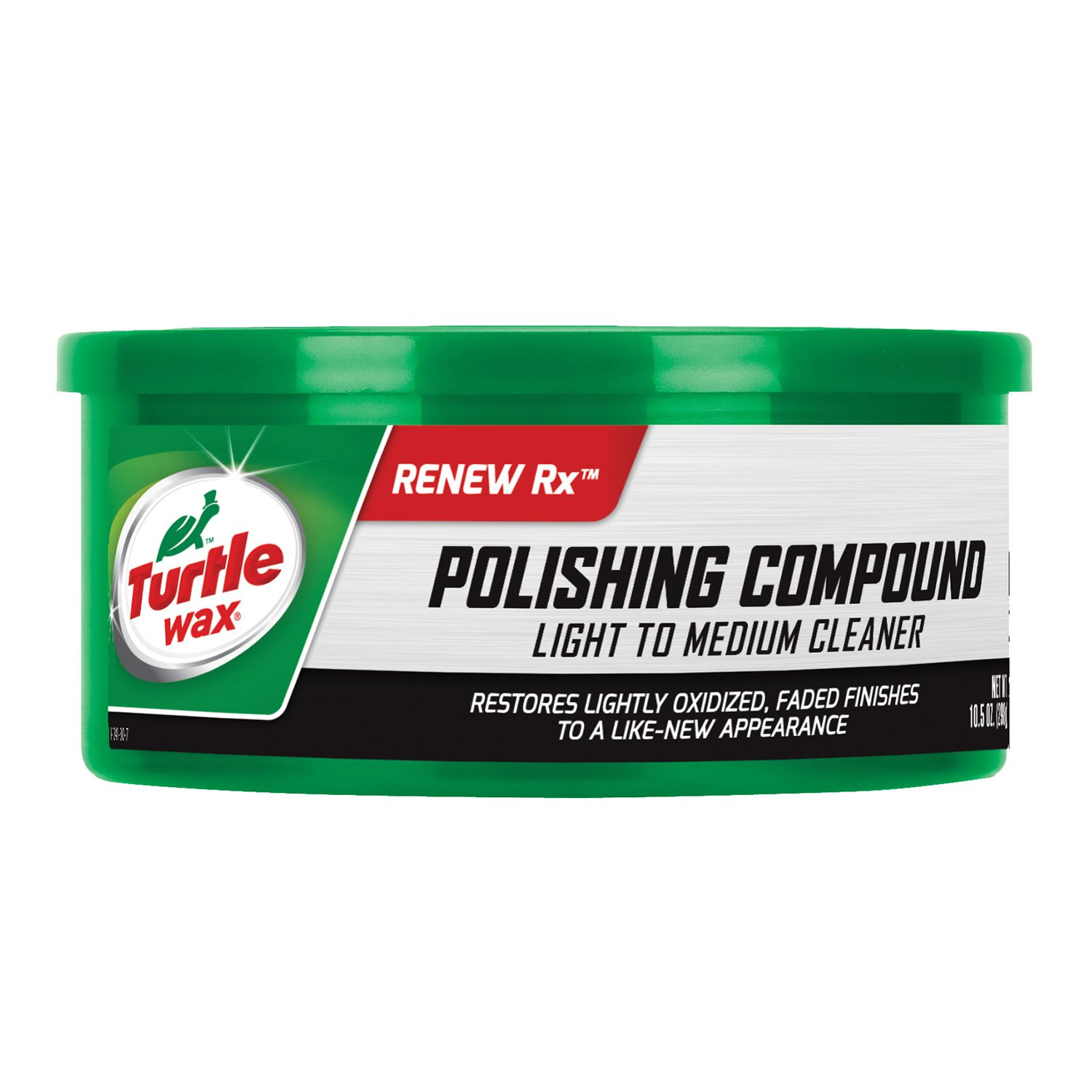 T241A Turtle Wax Inc. Polishing Compound Removes Oxidized Pigment