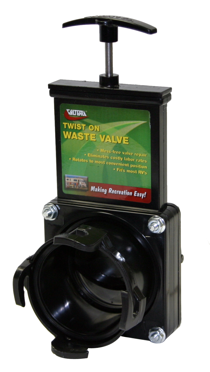 T58 Valterra Sewer Waste Valve Waste Valve For RV Black Water System