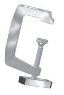 TL-130 Tite-Lok Truck Cap Clamp For Cap Racks, Shipping And Mounting